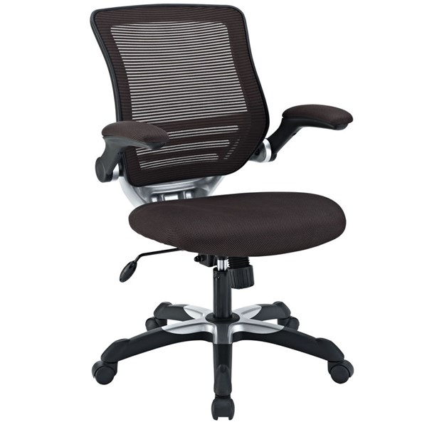 Modway Furniture Edge Brown Mesh Office Chair EEI-594-BRN