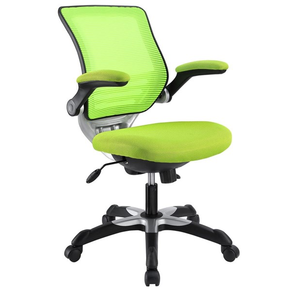 Edge Green Fabric Mesh Metal Wood Office Chair EEI-594-GRN
