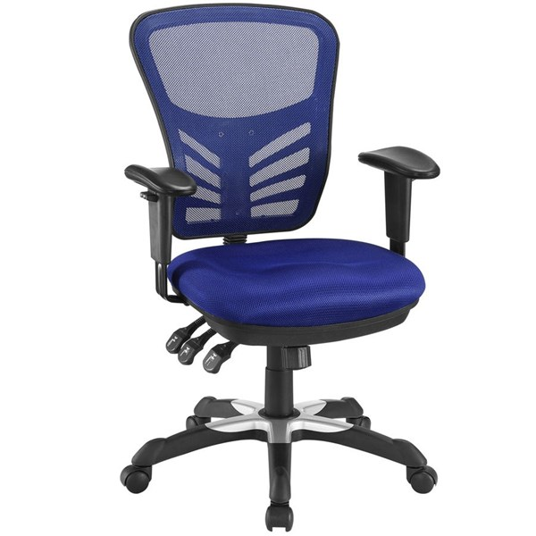 Modway Furniture Articulate Blue Office Chair EEI-757-BLU