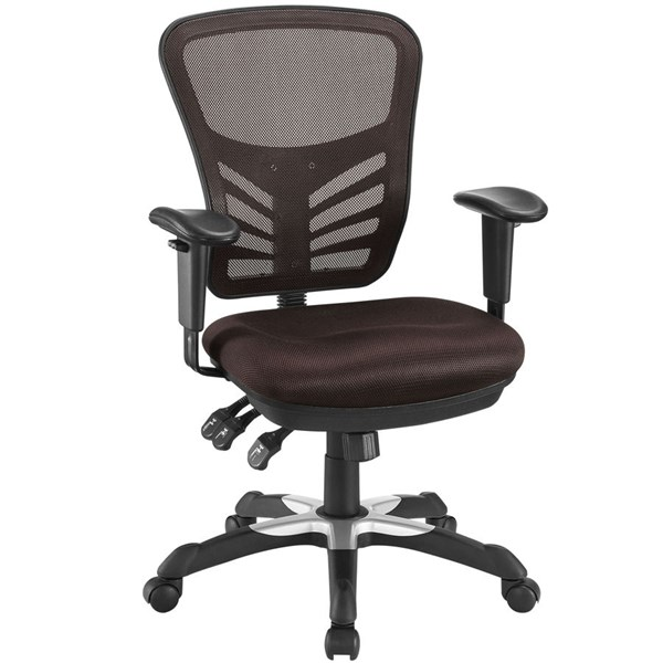 Modway Furniture Articulate Brown Office Chair EEI-757-BRN