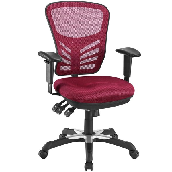 Modway Furniture Articulate Red Office Chair EEI-757-RED