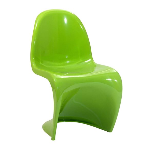 Panton Acrylic Backless Solid Seat Dining Chair EEI-776