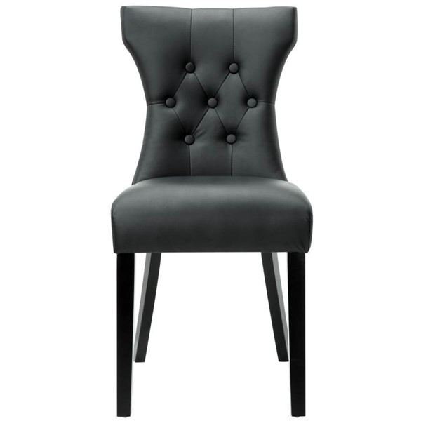 Vinly Upholstery With Wood Frame Silhouette Dinette Chair EEI-812
