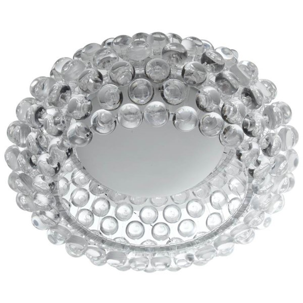 Halo Clear Acrylic Round 20 Inch Ceiling Fixture EEI-823