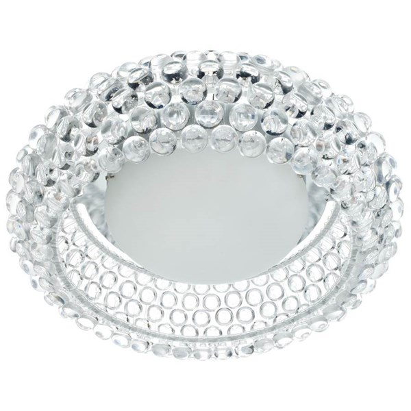 Halo Clear Acrylic Round 26 Inch Ceiling Fixture EEI-824