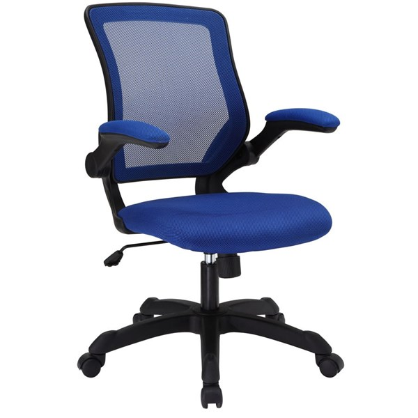 Modway Furniture Veer Blue Mesh Office Chair EEI-825-BLU
