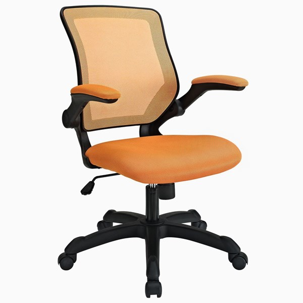 Modway Furniture Veer Orange Mesh Office Chair EEI-825-ORA