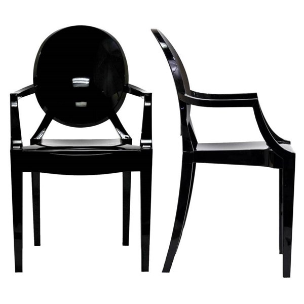 Casper Contemporary Polycarbonate Dinette Chairs EEI-905