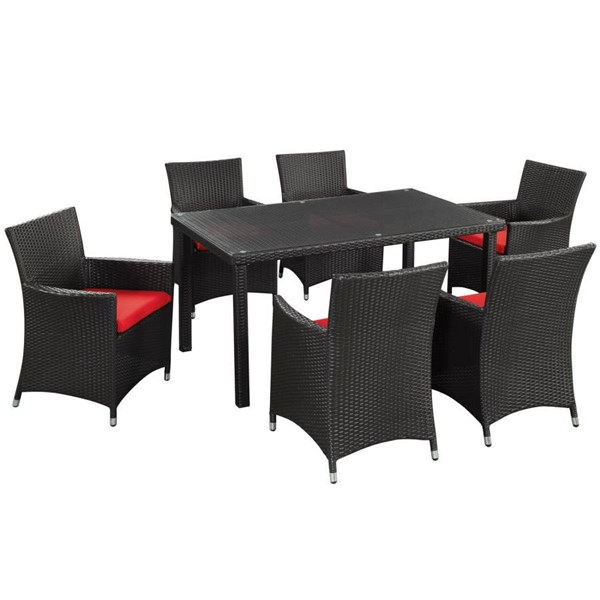 Synthetic Rattan Weave With Cushion Deco Outdoor Dinette Set EEI-984