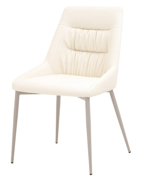 2 Essentials For Living Briar Matte Light Gray Dining Chairs EFL-1625-SYN-SHL-MLG