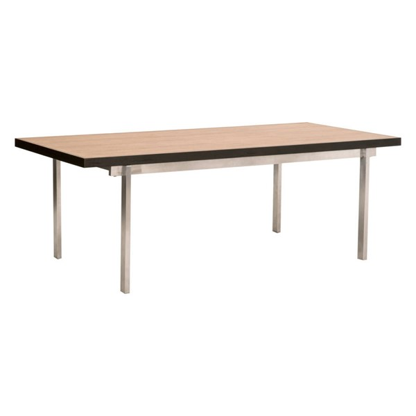 Essentials For Living Weathered Brown Burnish Dining Table EFL-Z-A0510