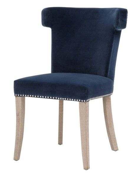 Essentials For Living Celina Denim Dining Chair EFL-7094-DEN-BSL-NG