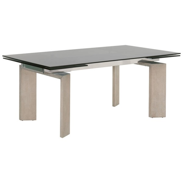 Essentials For Living Jett Smoke Gray Extension Dining Table EFL-1605-EXDT-NGA-SGRY