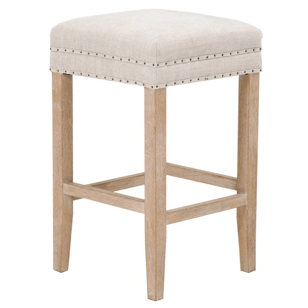Essentials For Living Kent Stone Wash Counter Stool EFL-6474-CSUP-BIS-SW