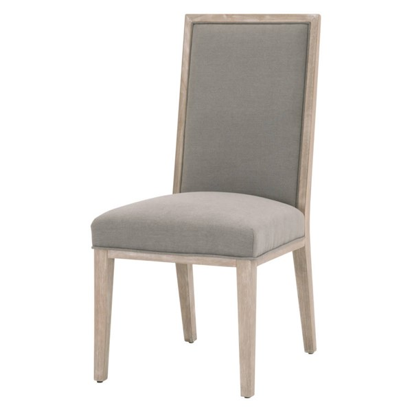 2 Essentials For Living Martin Slate Dining Chairs EFL-6008-NG-LPSLA