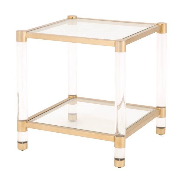 Essentials For Living Nouveau End Table EFL-6074-BBRS-CLR