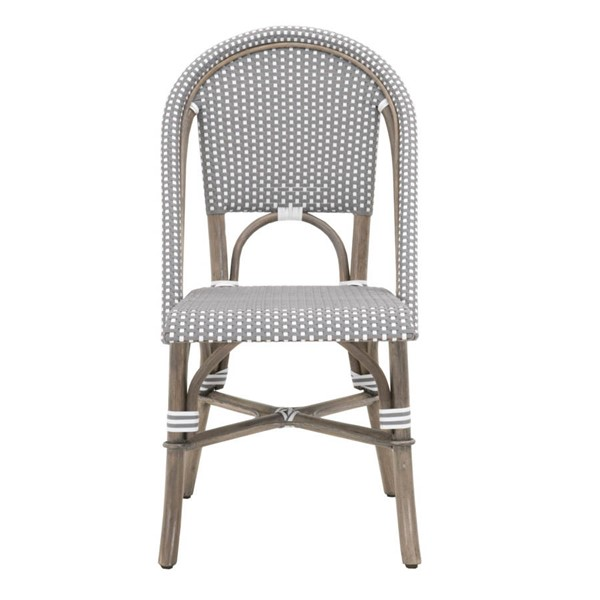 Essentials For Living Paris Gray White Dining Chairs EFL-6857-DCH-VAR