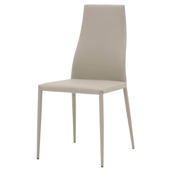 2 Essentials For Living Trace Oyster Dining Chairs EFL-1636-SYN-OYS