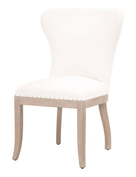 2 Essentials For Living Welles Pearl Dining Chairs EFL-6420UP-LPPRL-BT-NG