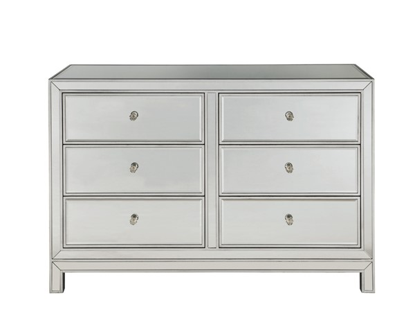 Elegant Decor Reflexion Antique Silver Dresser ELED-MF72017