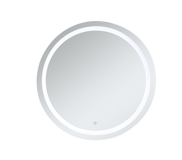 Elegant Decor Helios Silver 42 Inch Hardwired LED Mirror ELED-MRE24242