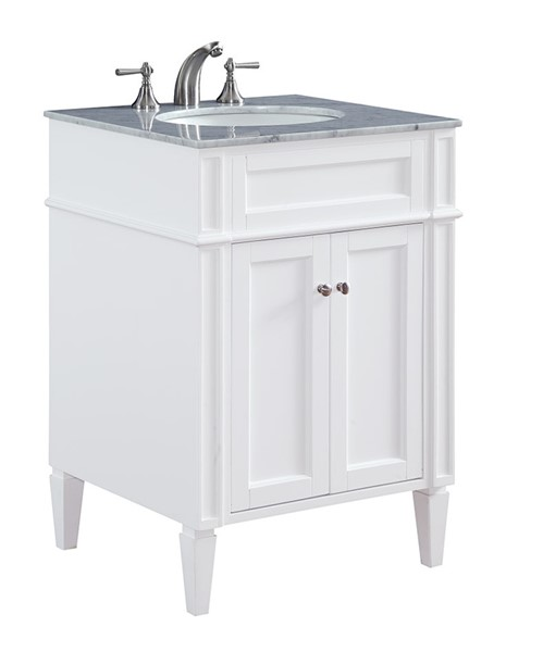 Elegant Decor Park Avenue 24 Inch Single Bathroom Vanity Sets ELED-VF-1026-BA-VAR