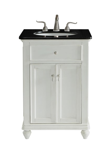 Elegant Decor Otto 24 Inch Single Bathroom Vanity Sets ELED-VF12324-BA-VAR