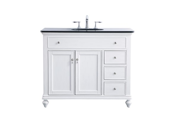 Elegant Decor Otto 42 Inch Single Bathroom Vanity Sets ELED-VF12342-BA-VAR