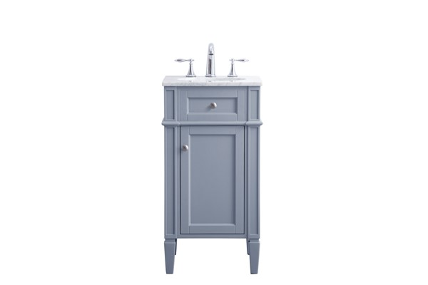 Elegant Decor Park 18 Inch Single Bathroom Vanity Sets ELED-VF12518-BA-VAR