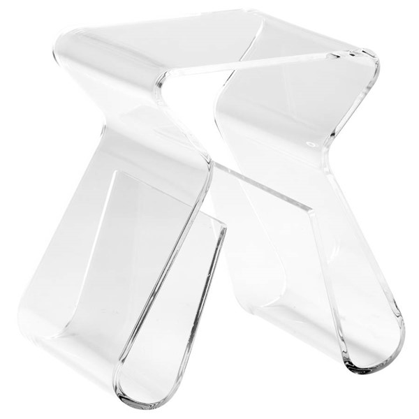 Poly and Bark Mag Clear End Table PNB-PB-139-CLR