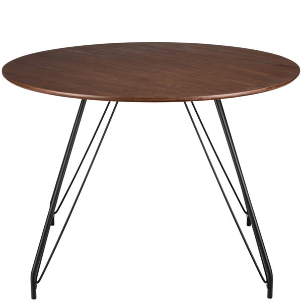Poly and Bark Waldron Walnut Hairpin Dining Table PNB-PB-187-WAL
