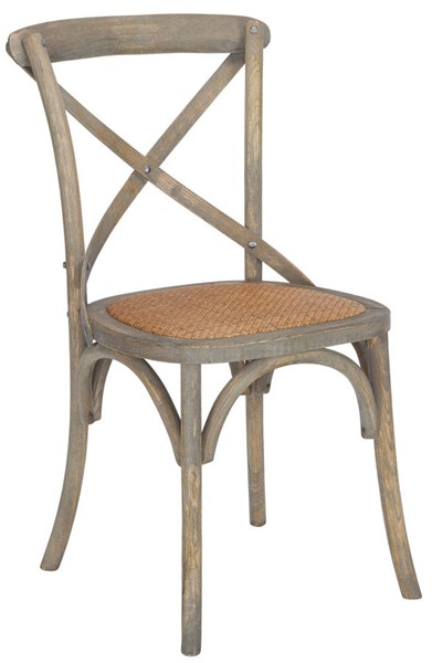 Edgemod Furniture Cafton Weathered Oak Crossback Chair EMD-EM-247-WOAK