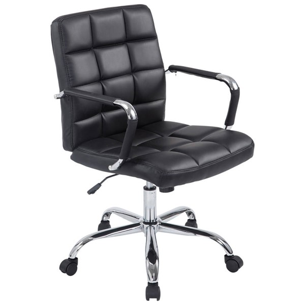 Edgemod Furniture Manchester Black Office Chair EMD-EM-251-BLK