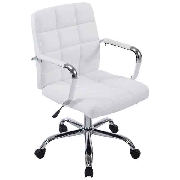 Poly and Bark Manchester White Office Chair PNB-PB-251-WHI