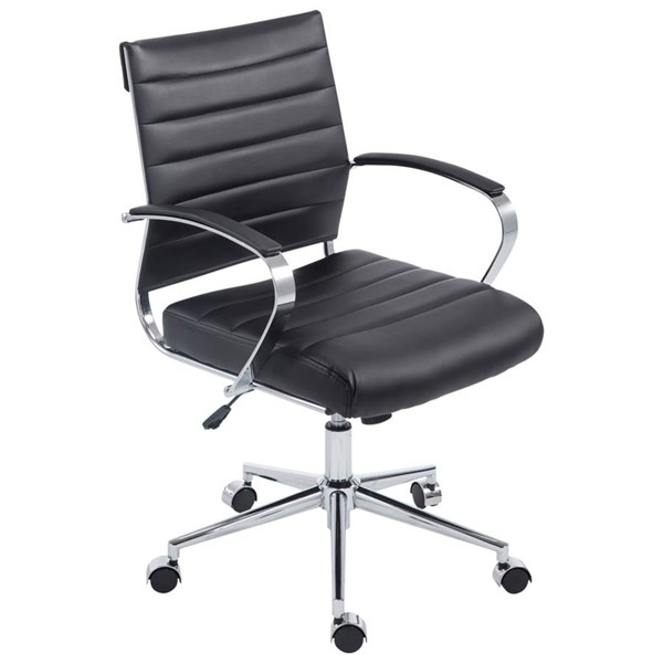 Poly and Bark Tremaine Black Office Chair PNB-PB-252-BLK