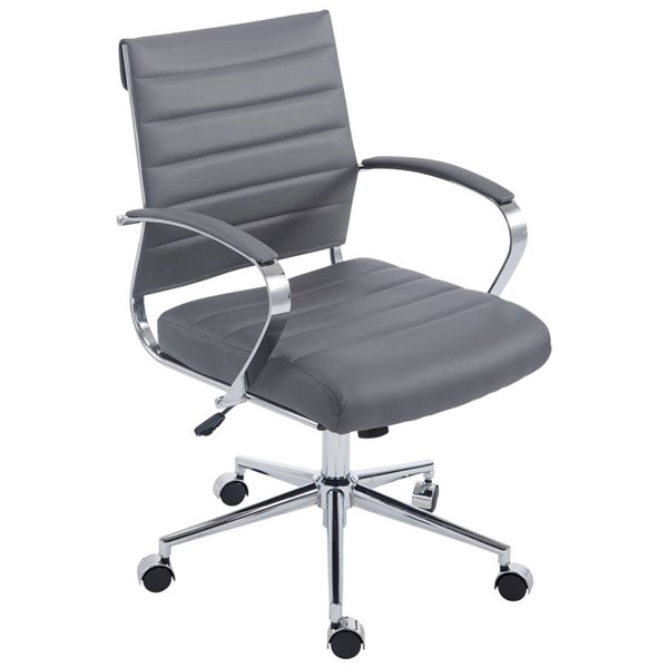 Poly and Bark Tremaine Grey Office Chair PNB-PB-252-GRY