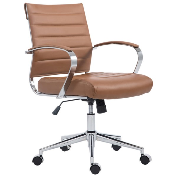 Poly and Bark Tremaine Terracotta Office Chair PNB-PB-252-TER