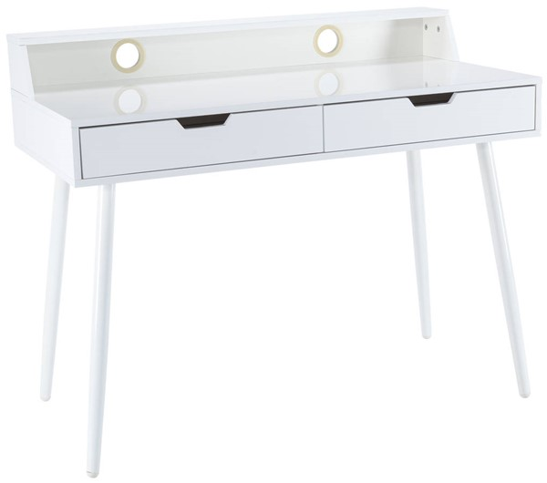 Edgemod Furniture Fresco White Writing Desk EMD-EM-260-WHI