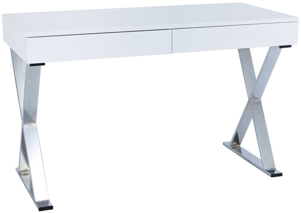 Edgemod Furniture Danbury White Writing Desk EMD-EM-266-WHI