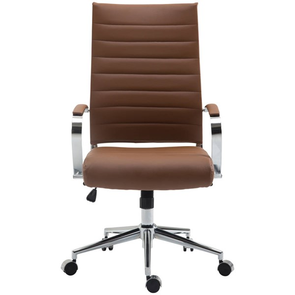 Edgemod Furniture Tremaine Teracotta High Back Management Chair EMD-EM-290-TER