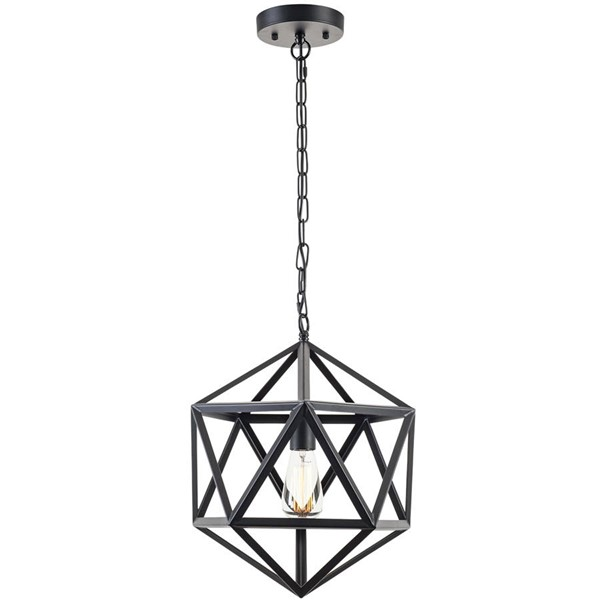 Edgemod Furniture Geodesic Black Pendant Lamp EMD-LS-C110