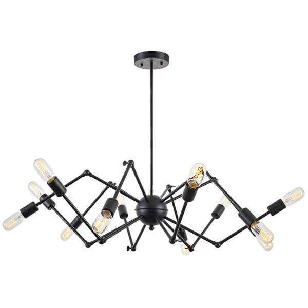 Edgemod Furniture Arachnid Black Chandelier EMD-LS-C111-BLK