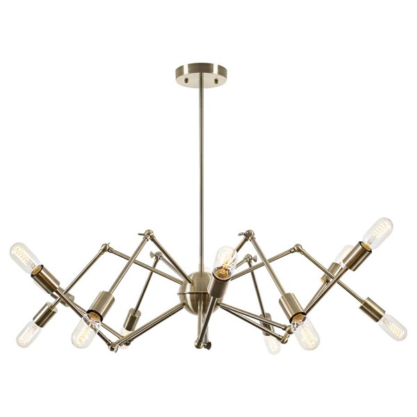 Edgemod Furniture Arachnid Brass Chandelier EMD-LS-C111-BRS