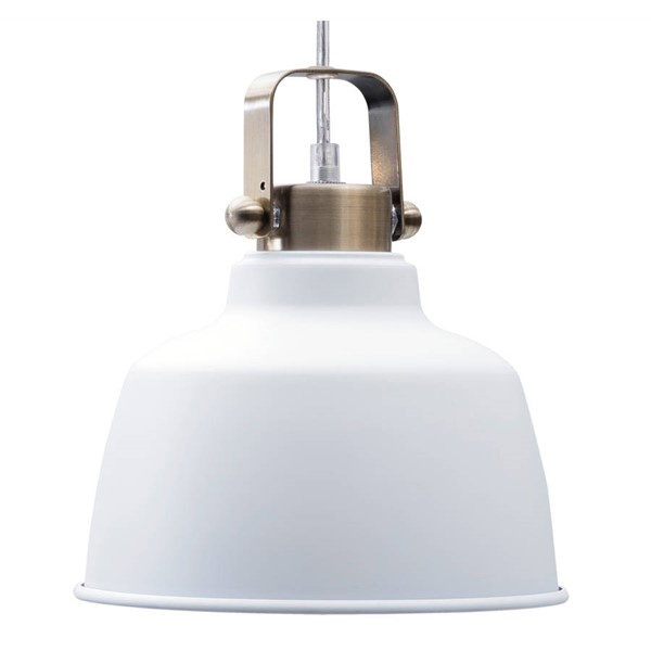 Edgemod Furniture Mercer Matte White Pendant Lamp EMD-LS-C169-WHI