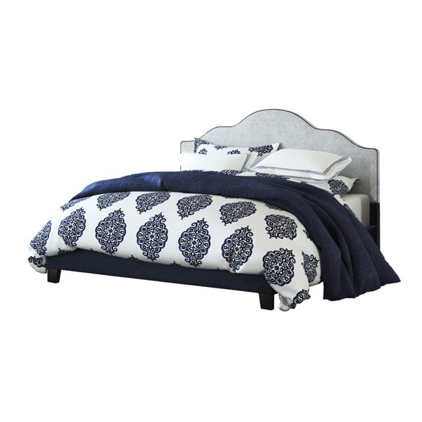 Emerald Home Anchor Bay Navy Fabric King Upholstered Bed EMR-B134-12HBFBR-04