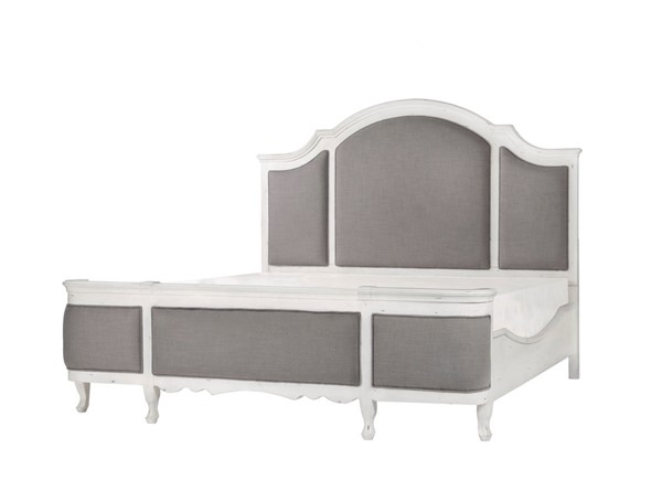 Emerald Home Bordeaux White King Bed EMR-B312-12-K