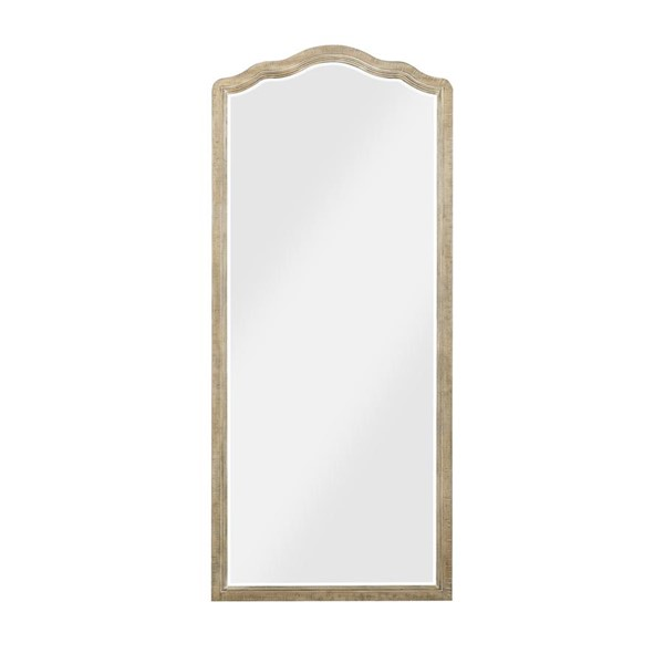 Emerald Home Interlude Gray Wood Standing Mirror EMR-B560-26