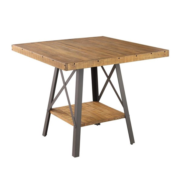 Emerald Home Chandler Brown Gathering Height Dining Table EMR-D100-13
