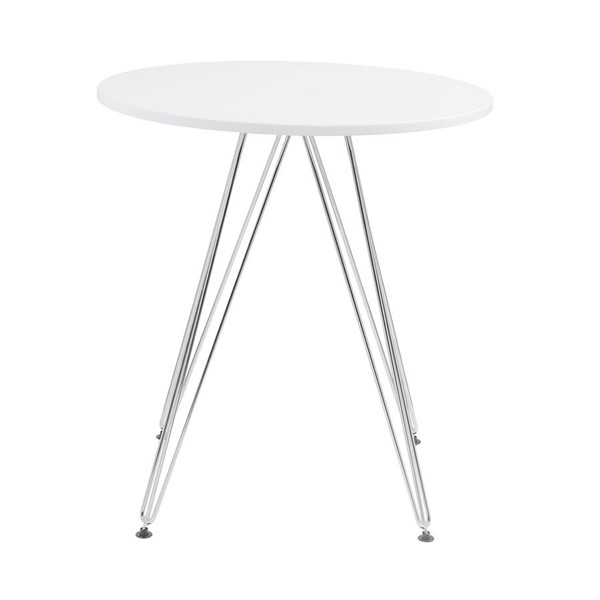 Emerald Home Audrey White 27 Inch Dining Table EMR-D119-10-27WHT