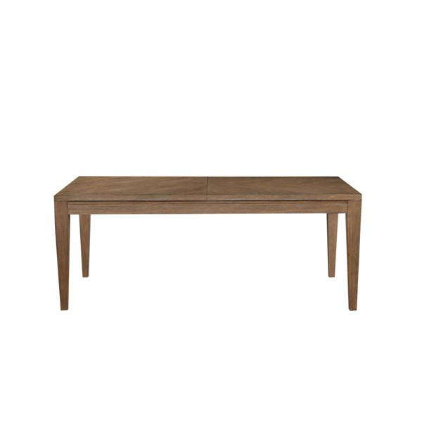 Emerald Home Vista Weathered Gray Rectangle Dining Table EMR-D242-10